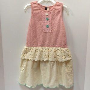 Sunny Landscape Dress Size 4-5